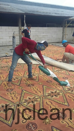 Pencucian Karpet Walikota Bekasi