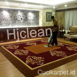 Cuci Karpet Kantor Ketua DPD